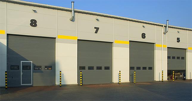 Kupić Segmentowe bramy przemysłowe