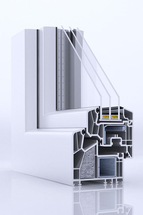Kupić Okna PVC Vetrex Alphaline 90 PLUS