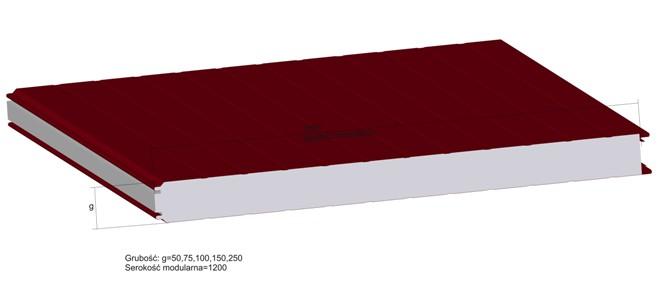 Chwalebne Płyty warstwowe BAAS-PANEL z rdzeniem styropianowym kupić w Nisko KW23