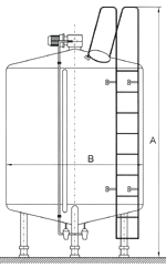 Buy Steel vertical Tanks