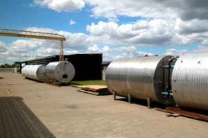 Buy Horizontal steel tanks