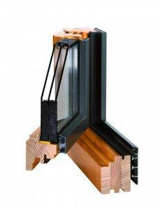 Kupić Okna Aluminiowo – Drewniane Gemini Quadrat