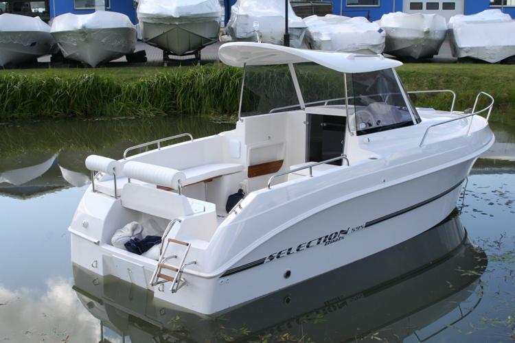 "Kupić Łódź motorowa typu ""pilothouse"" Texas / Aqualine 595"