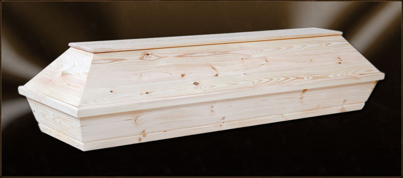 Trumna kremacyjna sosnowa