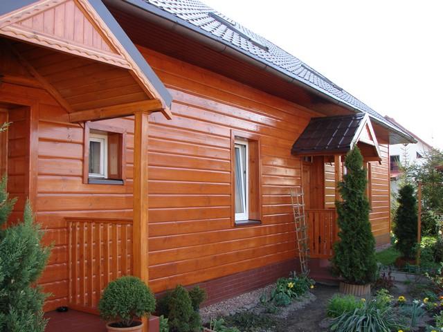 Kupić Elewacje drewniane