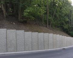 Elementy murów oporowych