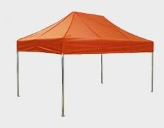 Namioty rozciągane, lub rurkowe o różnym