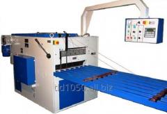 Longitudinally sawing machines