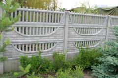 Prefabrykowane ogrodzenia betonowe