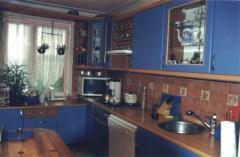 Meble kuchenne niebieskie