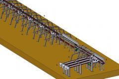 Linia do sortowania drewna średniowymiarowego