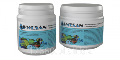 Biopreparats for the ponds treatment
