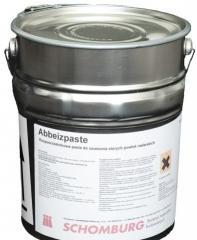 Rozpuszczalnikowa pasta do usuwania powłok malarskich- ABBEIZPASTE
