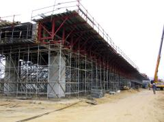 Podesty rusztowań budowlanych