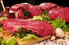 Mięso wołowe - półtusze, tusze, ćwierci