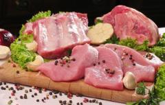 Wieprzowina - półtusze, tusze mrożone, tusze