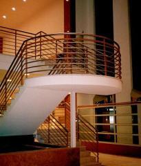 Balustrady do budynków produkcyjnych, biurowych, handlowych, użyteczności publicznej, mieszkalnych.