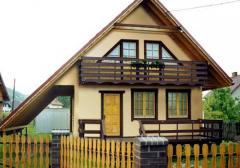 Dom mieszkalny szkieletowy Ania II