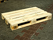 Transport box pallets