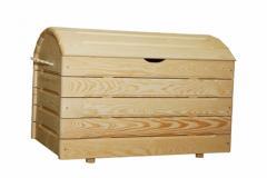 Kufer z drewna