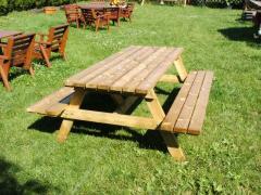 Stół piknikowy 180