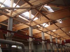 Konstrukcje budowlane z drewna klejonego