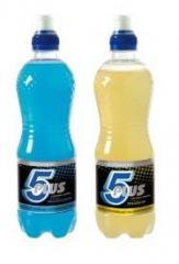 Napoje izotoniczne wykonane na bazie wody