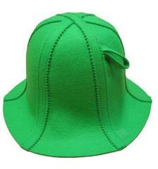 Czapka do sauny.Kolor zielony.