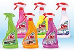 DIX Professional - Seria środków czyszczących