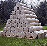 Brykiet drzewny - kominkowy, wysokiej jakości,