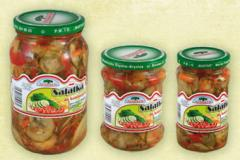 Canned vegetable salads