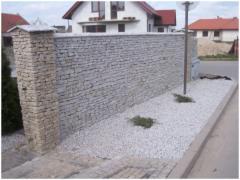 Łupki i kamień nieregularny