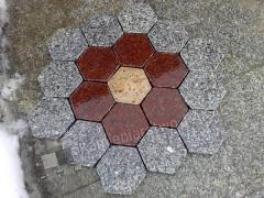 Puzzle granitowe