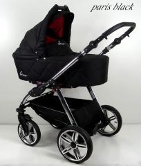 Wózek dziecięcy  BEXA model: B4X  PARIS BLACK