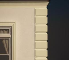 Facade stucco