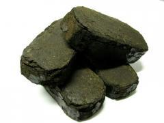 Peat bricks