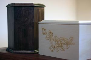 Urny drewniane