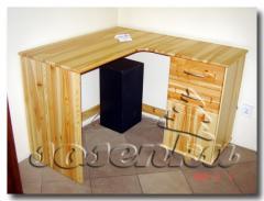 Biurka drewniane z sosny