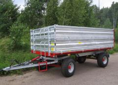 Steel side profiles for trailers and semi-trailers