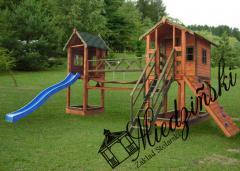 Plac zabaw dla dzieci rozbudowany 1