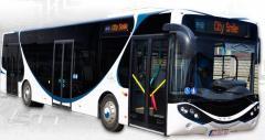 Autobus miejski niskopodłogowy 12m.Low-decker city bus, 12m.