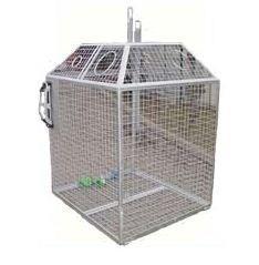 Pojemnik siatkowy do selektywnej zbiórki odpadów