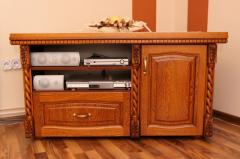 Komoda rtv front drewniany