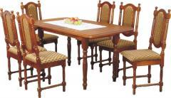 Drewniany stół S1