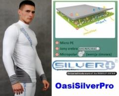 Bielizna termoaktywna antybakteryjna Silverplus