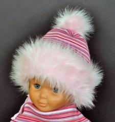 Czapki dziewczęce- kolekcja zimowa