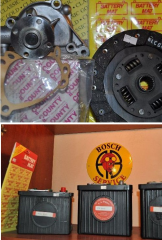 Spare parts for vintage cars