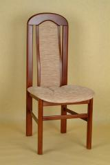 Natural wooden chair