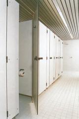 Boksy sanitarne z hpl