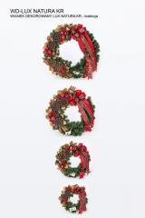 Wianki dekorowane świąteczne na drzwi, ścianę ,